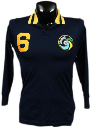 NASL Soccer New York Cosmos 80 Road Jersey Franz Beckenbauer Wrong Stripes on collar