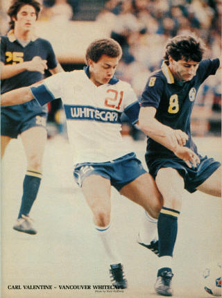 NASL Soccer New York Cosmos 80 Road Vladislav Bogicevic, Whitecaps