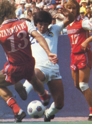 Dallas Tornado New York Cosmos 1981 Home Chico Borja, Carl Bennett