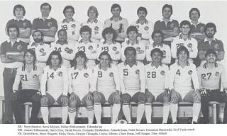 NASL Soccer New York Cosmos 80-81 Indoor Home Team