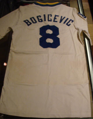New York Cosmos 81-84 Home Jersey Vladislav Bogicevic 2 Back