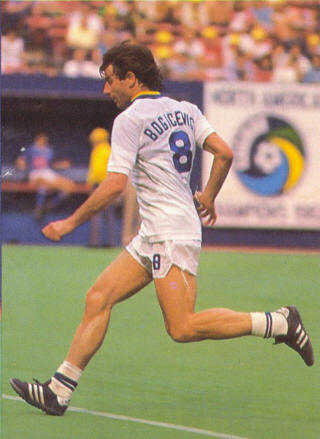 NASL Soccer New York Cosmos 83 Home Back Vladislav Bogicevic