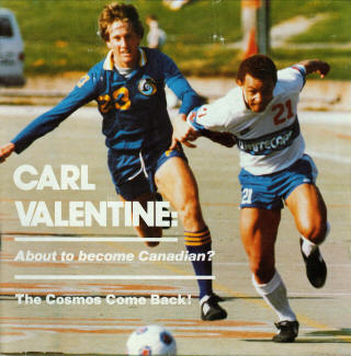 NASL Soccer New York Cosmos 83 Road Mike Fox, Whitecaps Spring Cup