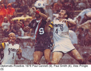 Diplomats rowdies 1976 Road Paul Cannell Alex Pringle