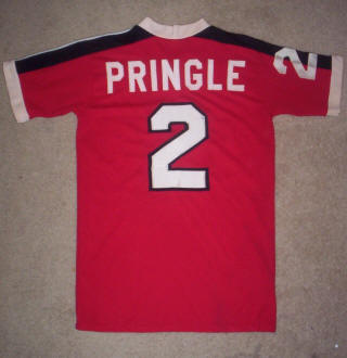 NASL Soccer Washington Dips 78 Road Jersey Alex Pringle