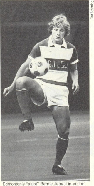 NASL Soccer Edmonton Drillers 81 Road Bernie James.jpg