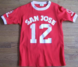 San Jose Earthquakes 74 Road Jersey Mike Meszaros