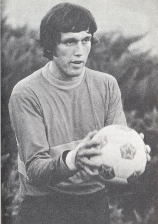 NASL Soccer San Jose Earthquakes 75 Goalie Gary St. Clair