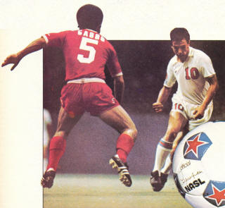 NASL Soccer San Jose Earthquakes 75 Road Back Gabbo Gavric