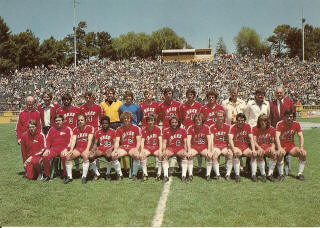 NASL Soccer San Jose Earthquakes 76 Road Team (2)