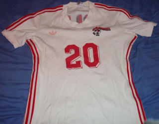 NASL Soccer San Jose Earthquakes 77 Home Jersey John Smillie
