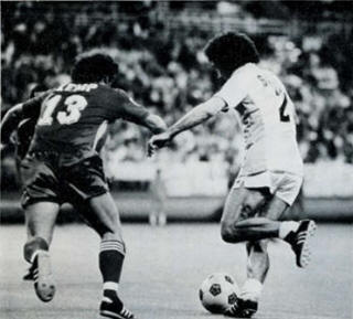 NASL Soccer San Jose Earthquakes 78 Road Back Davie Kemp