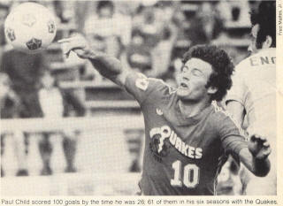 Seattle Sounders 1978 Mike England