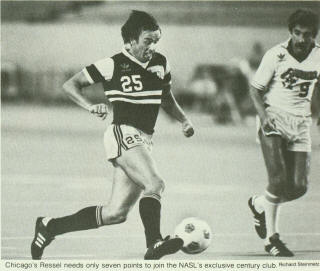 San Jose Earthquakes 1979 Home Bernie Gersdorff, Sting