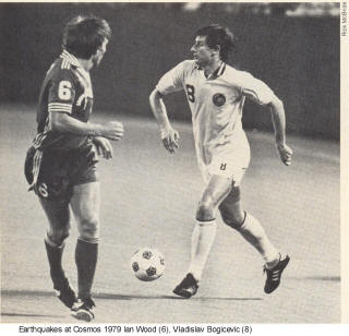 NASL Soccer San Jose Earthquakes 79 Road Back Ian Wood