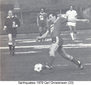 NASL Soccer San Jose Earthquakes 79 Road Preseason Carl Christensen