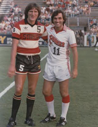 NASL Soccer San Jose Earthquakes 80 Home George Best 4