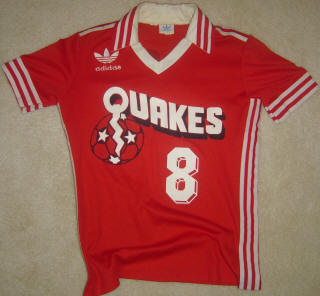 NASL Soccer San Jose Earthquakes 80 Home Jersey Miro Pavlovic