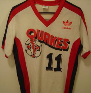 NASL Soccer San Jose Earthquakes 81 Home Jersey George Best