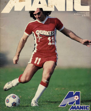 NASL Soccer San Jose Earthquakes 1981 Road George Best (3)