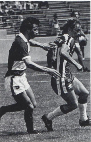 NASL Soccer San Jose Earthquakes 82 Road Gary Etherington