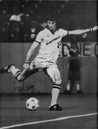 NASL Soccer Detroit Express 78 Road Graham Oates