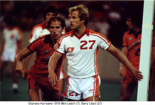 NASL Soccer Houston Hurricane 78 Home Barry Lloyd