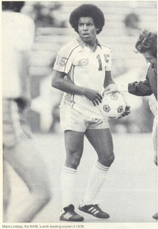 NASL Soccer Houston Hurricane 78 Home Mark Lindsay'