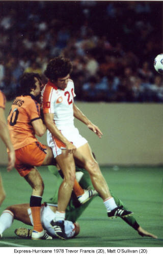 NASL Soccer Houston Hurricane 78 Home Matt O'Sullivan