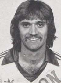 NASL Soccer Houston Hurricane 79 Dan Geerling Head