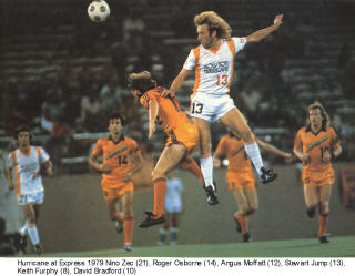 Detroit Express Houston Hurricane 79 Home Stewart Jump, Roger OSborne