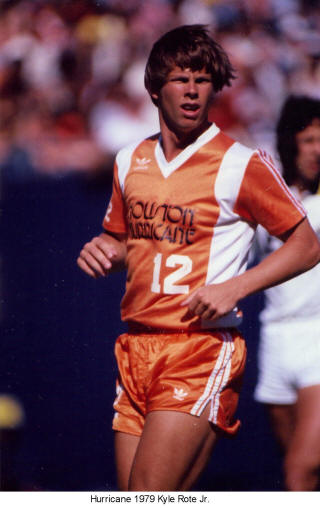 NASL Soccer Houston Hurricane 79 Road Kyle Rote