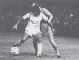 NASL Soccer Houston Hurricanes 80- Home Ruben Morales