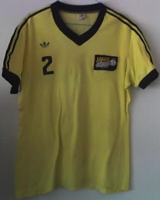 NASL Soccer San Diego Jaws 76 Home Jersey Len Renery