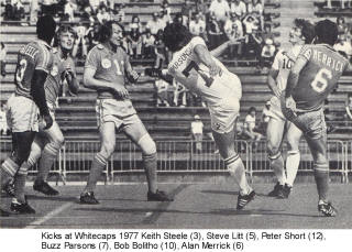 NASL Soccer Minnesota Kicks 77 Road Back Keith Steele