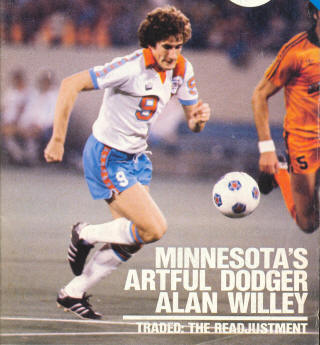 NASL Soccer Minnesota Kicks 79 Home Alan Willey
