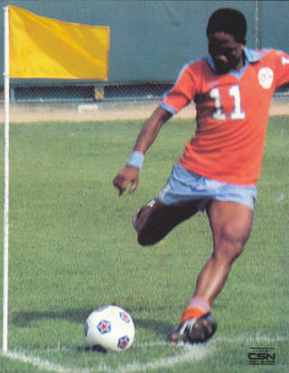 NASL Soccer Minnesota Kicks 80 Road Ace Ntsolengoe