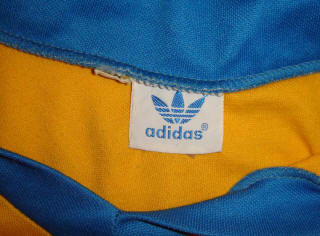 NASL Soccer Rochester Lancers 79 Home Jersey Val Tuksa Adidas Tag