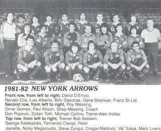 Arrows 81-82 Home Team