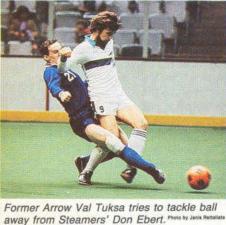 Arrows 81-82 Home Val Tuksa, Steamers Don Ebert