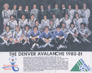 Avalanche 80-81 Home Team