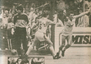 Blast 83-84 Road Mike Stankovic, Dave MacWilliams