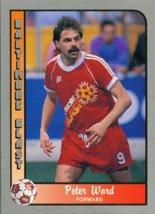 Baltimore Blast 89-90 Home Peter Ward