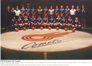 Comets 81-82 Home Team