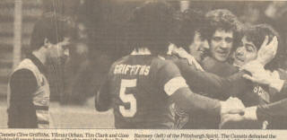 Comets 82-83 Home Back Clive Griffiths