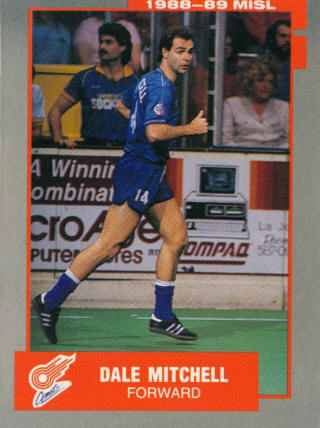 Comets 87-88 Home Back Dale Mitchell
