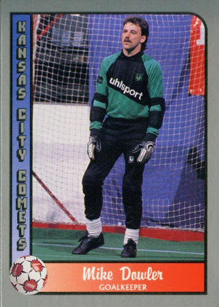 Comets 89-90 Goalie Mike Dowler (2)