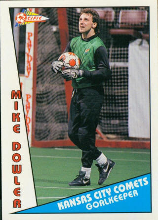 Comets 90-91 Goalie Mike Dowler