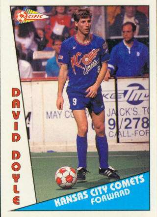Comets 90-91 Home David Doyle