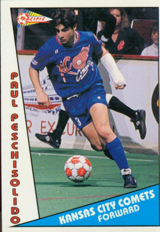 Comets 90-91 Home Paul Peschisolido